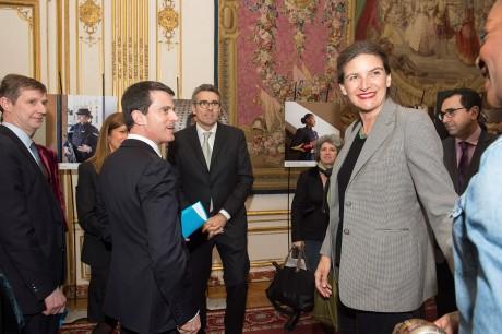 Reception en l'honneur de la Journée de la Femme à Matignon le 08.03.16.